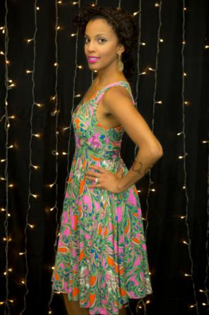 Pocket Dress Modeling - Melanie
